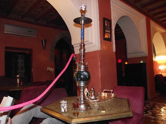 Riad Samsli: Shisha, strawberry flavour