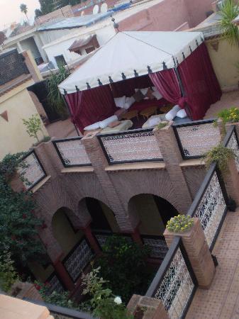 Riad Samsli: terrace