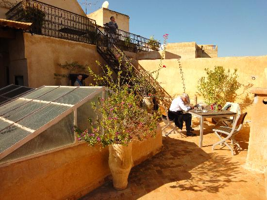 Riad Boujloud: Room tof terrace