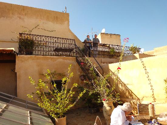 Riad Boujloud: Roof top terrace
