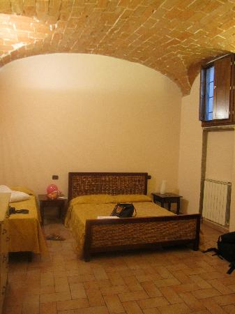 Chiazza: arched ceilings in the main bedroom!