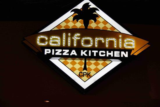 California Pizza Kitchen Mirage Hotel Las Vegas Nevada