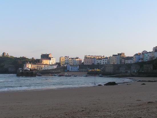Myrtle House Hotel: Tenby Harbour/Town