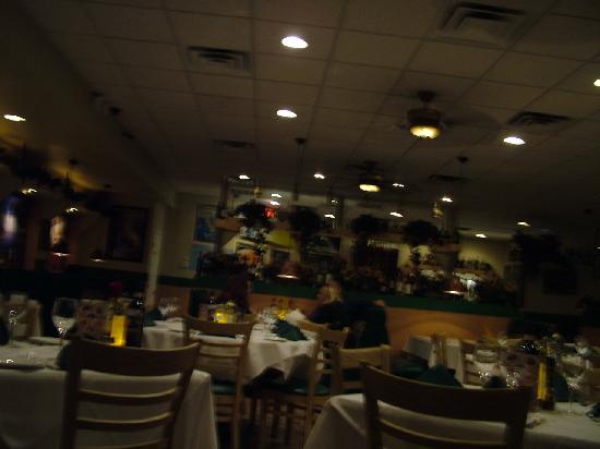 Sicilian Ristorante : Inside the Restaurant