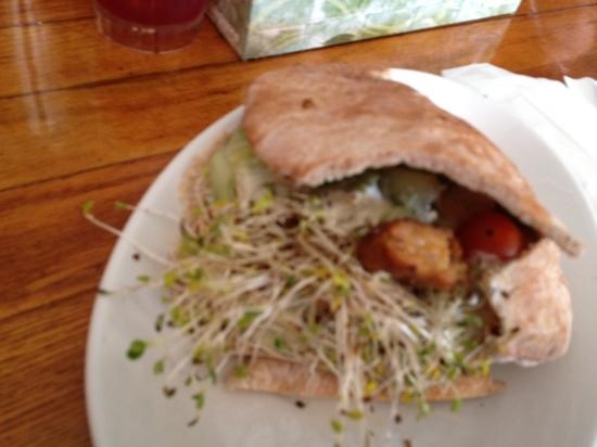 Whole In the Wall: tofu tempeh pocket