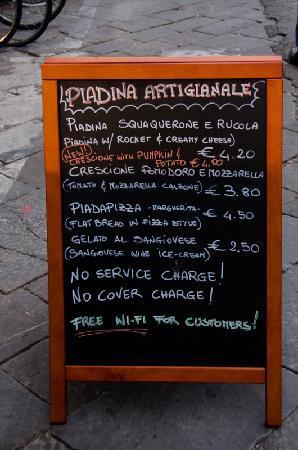 L'Azdora : La nostra lavagna - Our blackboard