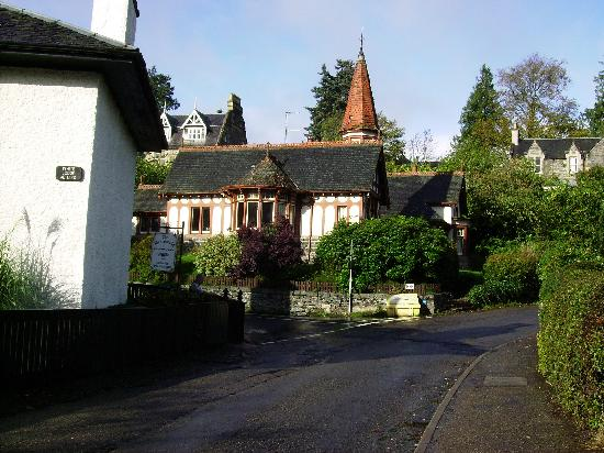 Strathpeffer Hotel: part of the village Strathpeffer