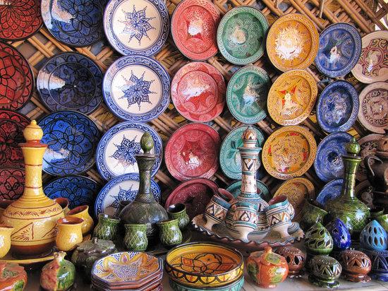 New Medina of Casablanca: ceramica tradizionale