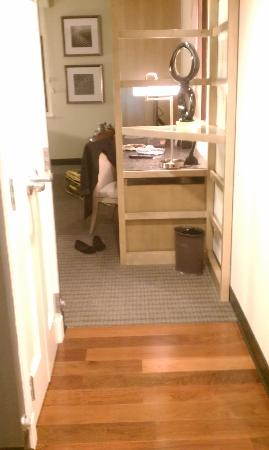 The Hotel at Arundel Preserve: First walking into the room