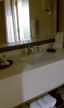 The Hotel at Arundel Preserve: sink in the bathroom
