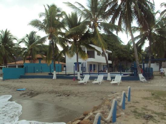 Hotel PortoAlegre Covenas: Desde el mar