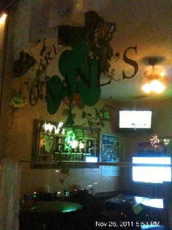 O'Kane's Irish Pub & Eatery: front