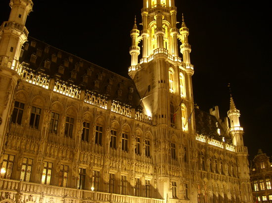 Brussel, Belgia: grand place, enero 2011