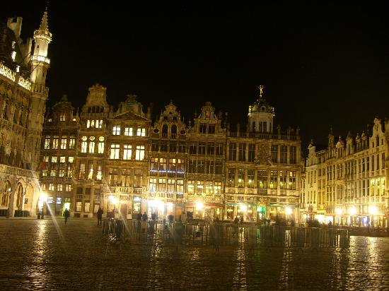 Brussels, Belgia: grand place