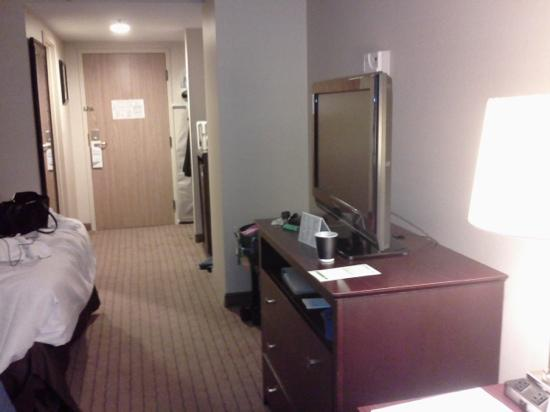 Holiday Inn Timonium: Flat screen TVs in most rooms.