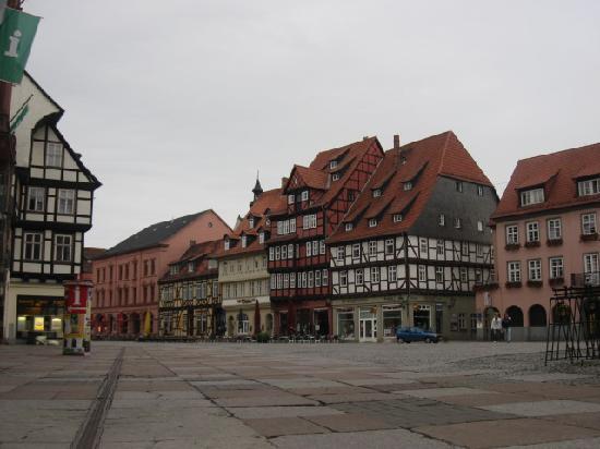 Hotel-Pension Weingart Quedlinburg: Im Zentrum
