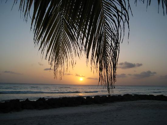 Southern Surf Beach Apartments: one of my twenty-one sunsets