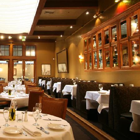 Spaghettini Italian Grill and Jazz Club: Bistro Area