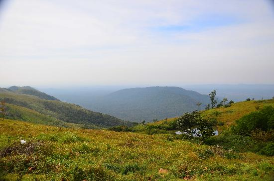 Himada Gopalswamy Temple: Surrounding hills with several ponds