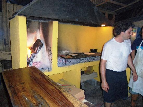 Casa del Mar Surf Destiny: Now that's an authentic brick oven