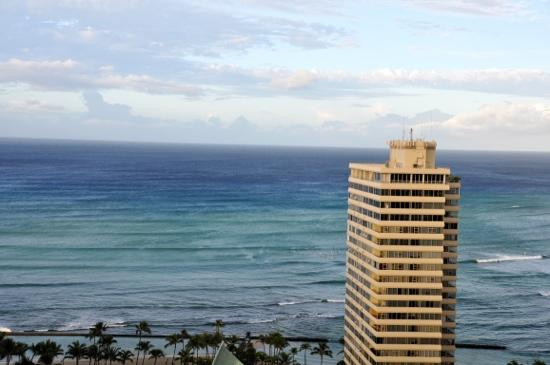 Aston at the Waikiki Banyan: ocean view room view