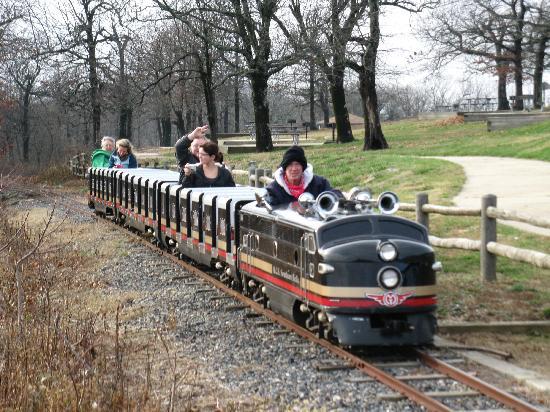 Queen Wilhelmina State Park: Choo-Choo for the kiddies