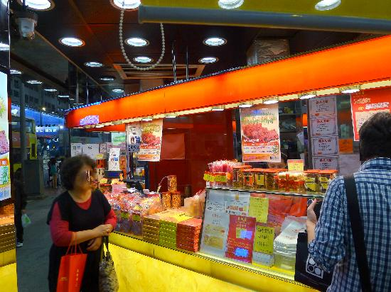 Bee Cheng Hiang(Causeway Bay) : Order Counter