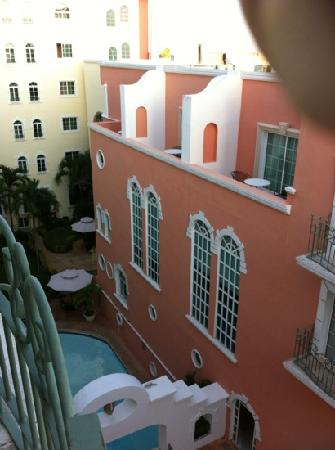 InterContinental Presidente Merida : vue du balcon