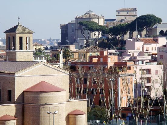 Al sole di Roma: Vista