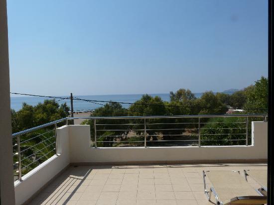 Hotel Poseidon: vue