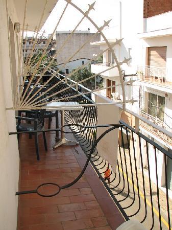 Hotel Miami : balcony