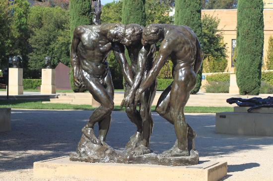 Palo Alto, CA: Stanford University, bronzi di Rodin