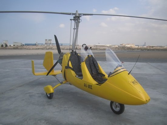 Jazirah Aviation Club: Gyrocopter
