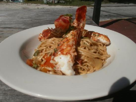 The Love Shack: Broiled Lobster Dish