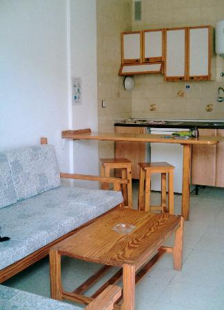 Hotel Solana: Sitting Room