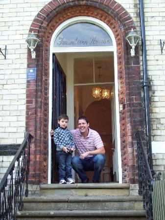 Fountain Guest House: My son with scott