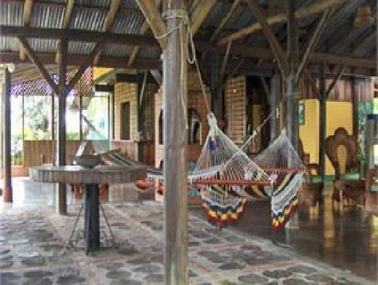 Cerro Alto Lodge: hamacas