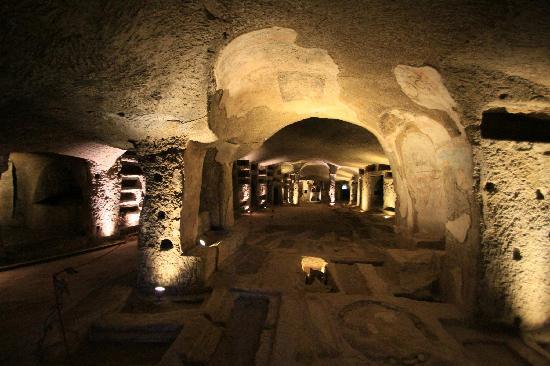 Catacombe di San Gennaro : Catacombe San Genarro