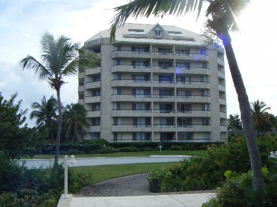 The Towers at Mullet Bay: Building from the Rear
