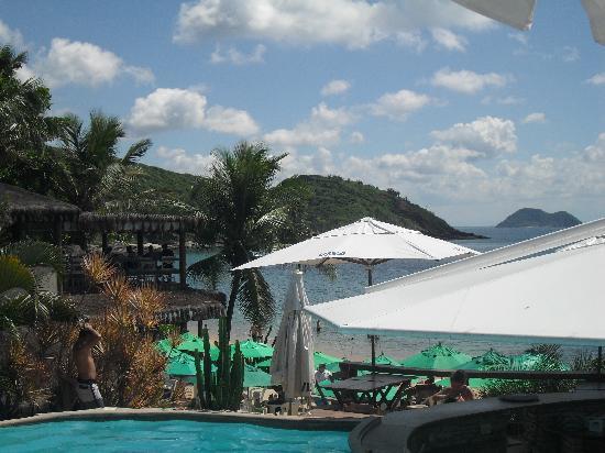 Hotel La Foret: la plage