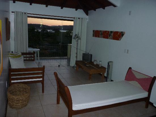 A Casa Do Mar Apartamentos: Living del apartamento