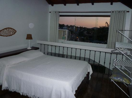 A Casa Do Mar Apartamentos : Dormitorio en Planta alta