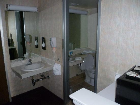 Salt Lake Plaza Hotel: bathroom plaza slc