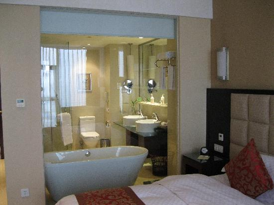 Rainbird International Hotel Chengdu : bagno