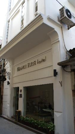Hanoi Elite Hotel: The outside