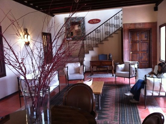 Mirador del Frayle Hotel: front desk