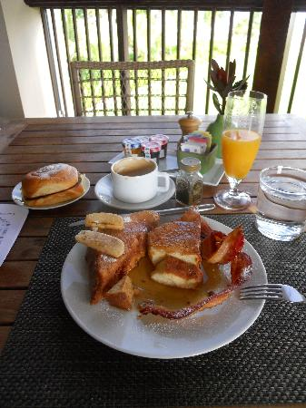 The St. Regis Bahia Beach Resort: Fern French Toast!