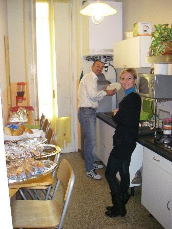 Ridolfi Guest House: ............a colazione