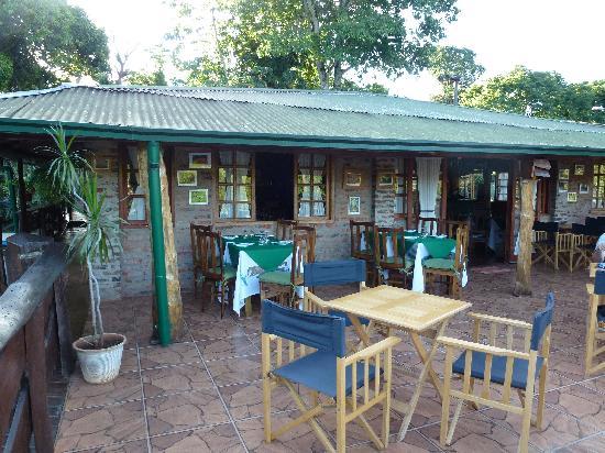 Jasy Hotel: la terrasse prinicpale