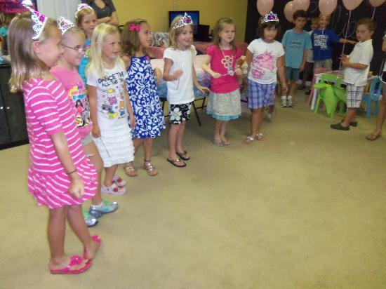 Keep It Sweet : Birthday parties are a blast here!
